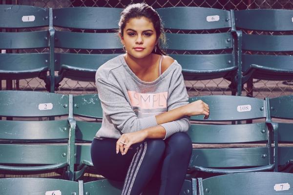 selena gomez photoshoot adidas